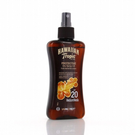 Hawaiian Tropic - Dry Oils Spray SPF 20 - 200ml