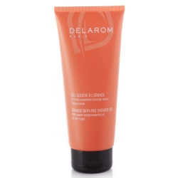 Delarom - Orange Bath and Shower Gel - 200ml