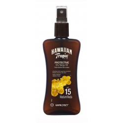 Hawaiian Tropic - Dry Oils Spray SPF 15 - 200ml