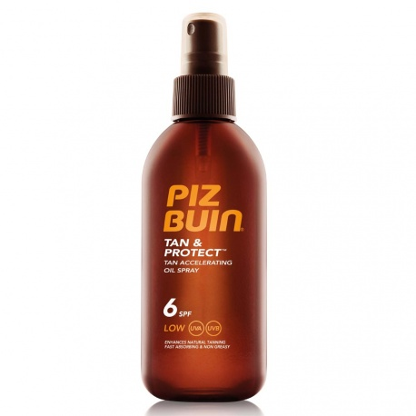 Piz Buin - Tan & Protect Huile Solaire SPF 6 - 150ml