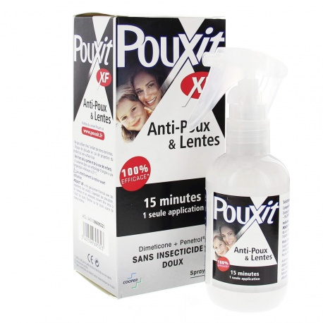 Pouxit - Spray Anti-Poux et Lentes 15 minutes - 100ml