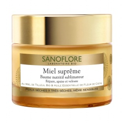 Sanoflore - Honey Supreme Balm Nutritive - 50ml