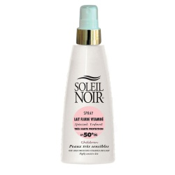 Soleil Noir - Fluid Milk with Vitamins Spray SPF50+ For Kids - 150ml