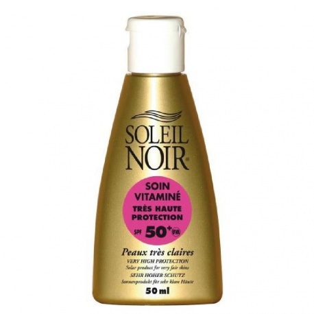 Soleil Noir - Cream Care with Vitamins SPF50+ - 50ml