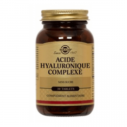 Solgar - Acide Hyaluronic 120mg - 30 Tablettes