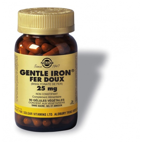 Solgar - Gentle Iron Vegetable Capsules - 90 Capsules