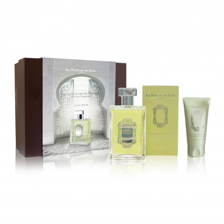 La Sultane de Saba - Ginger Green Tea Fragrance Box + Hand Cream