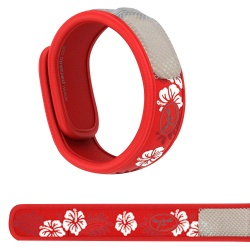 Para'Kito - Red Hawaii Refills Mosquito Repellent Band + 2 Refills