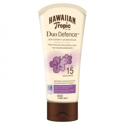 Hawaiian Tropic - Duo Défense - Lotion solaire SPF 15 - 180ml