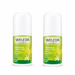 Weleda - Déodorants Roll-On Citrus Duo - 2x50ml