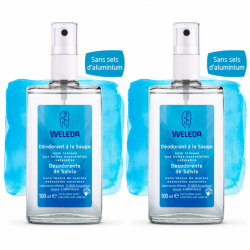Weleda - Déodorants Sauge Spray Duo - 2x100ml