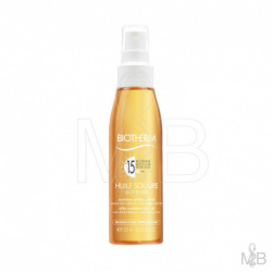 Biotherm - Huile Solaire Soyeuse SPF15 - 125ml