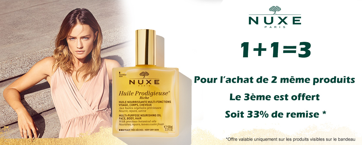 Offre Nuxe